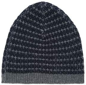 Caramel knitted Aydon beanie hat