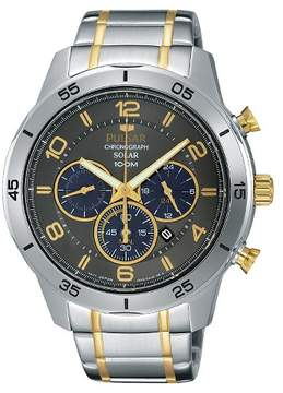 Pulsar Men's Chronograph Solar - Two Tone with Gray Dial - PX5057