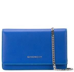Givenchy Blue Pandora Chain Wallet