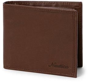 Nautica Centerboard Flap Wallet