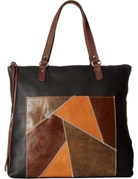 American West Soft Zip Top Bag Pack Top-Zip Handbags