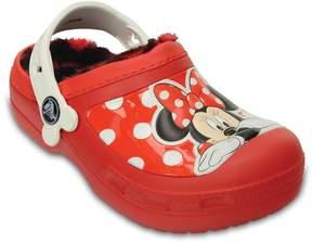 Crocs Disney Minnie Mouse Lined Girls' Clogs