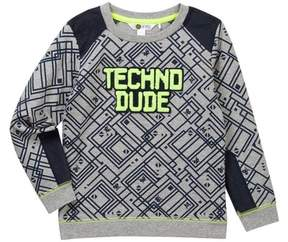 Petit Lem Techno Dude Long Sleeve Sweatshirt (Toddler & Little Boys)