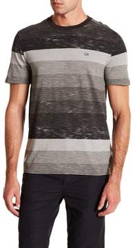 Calvin Klein Jeans Road Map Block Stripe Crew Neck Tee