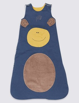 Marks and Spencer Pure Cotton 2.3 Tog Monkey Sleeping Bag