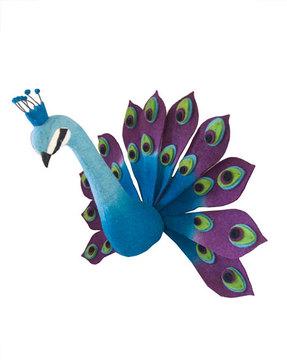 Peacock Nursery Popsugar Moms