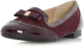 Head Over Heels *Head Over Heels by Dune Burgundy Graicee Loafers