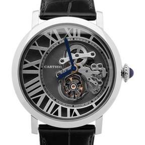 Cartier Rotonde de Reversed Tourbillon Men's Watch