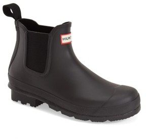 Hunter Men's 'Original' Waterproof Chelsea Rain Boot