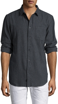 Globe Men's Barkly Checkered Sportshirt