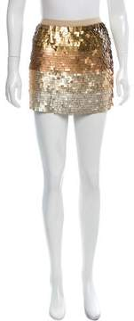 Calypso Sequin Ombré Pattern Skirt