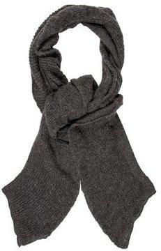Just Cavalli Ruffled Knit Scarf