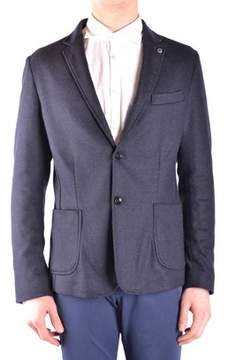 Massimo Rebecchi Men's Black Wool Blazer.