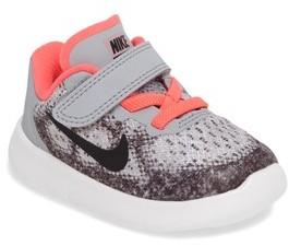Nike Girl's Free Run 2017 Sneaker