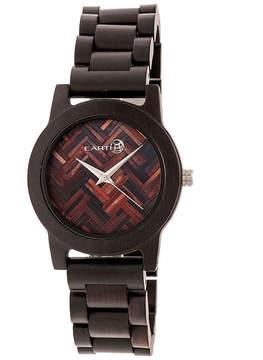 Earth Wood Crown Unisex Brown Bracelet Watch-Ethew4502