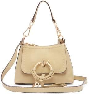 See by Chloe Joan Mini Leather Cross Body Bag - Womens - Light Green