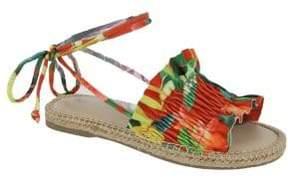 Mia Annalise Lace Up Espadrille Sandals