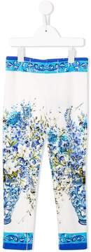 Dolce & Gabbana Vaso Fiori leggings