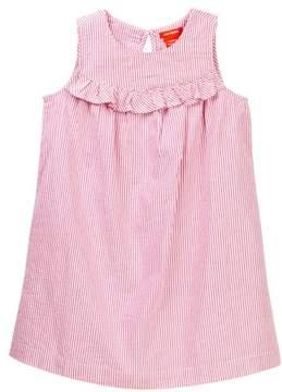 Joe Fresh Seersucker Dress (Toddler & Little Girls)