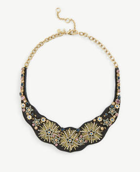 Ann Taylor Stellar Fabric Statement Necklace