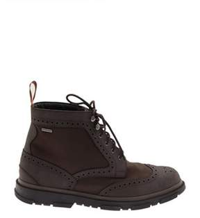 Swims Men's Brown Leather Ankle Boots.