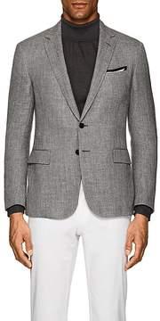 Ralph Lauren Purple Label Men's Nigel Herringbone Linen-Blend Two-Button Sportcoat
