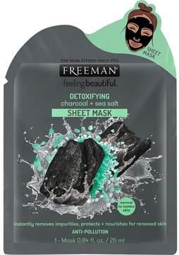 Freeman Detoxifying Charcoal & Sea Salt Sheet Mask