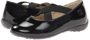 Naturino Patent Leather Ballerina Shoe with Crisscross Straps