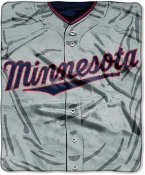 Northwest Company Minnesota Twins 50x60in Plush Throw Jersey