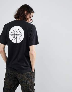 Converse Cons Court Tee In Black 10005691-A02