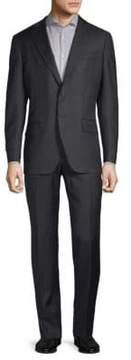 Luciano Barbera Notch Wool Suit