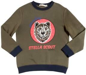 Stella McCartney Bear Print Organic Cotton Sweatshirt