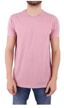 Scotch & Soda Men's Pink Cotton T-shirt.