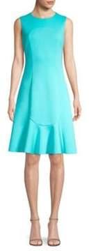 Elie Tahari Lizzie Seamed Dress