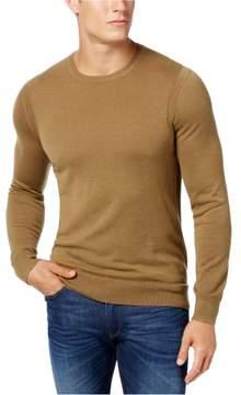 Michael Kors Wool Knit Sweater Brown XL