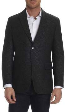 Robert Graham Gingham-Stitch Sport Coat