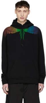 Marcelo Burlon County of Milan Black Rainbow Wing Hoodie