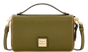 Dooney & Bourke Saffiano Willis Convertible Clutch Wallet - OLIVE - STYLE