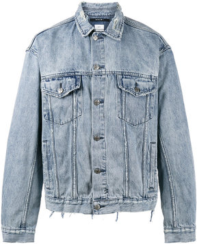 Ksubi Oh G Acid Trip Trash denim jacket