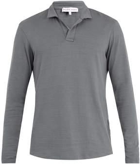 Orlebar Brown Massey long-sleeved cotton polo shirt