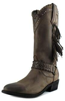 Old Gringo Baraka 13 Round Toe Leather Mid Calf Boot.