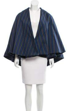 Creatures of the Wind Striped Open Front Cape