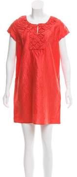 Calypso Short Sleeve Floral Dress