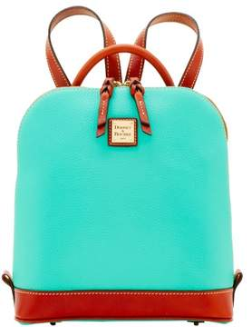 Dooney & Bourke Pebble Grain Zip Pod Backpack - JADE - STYLE