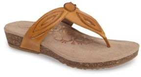Aetrex Women's 'Terri' Flip Flop