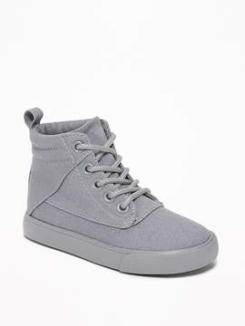 Old Navy Canvas Pieced-Seam High-Tops for Toddler Boys