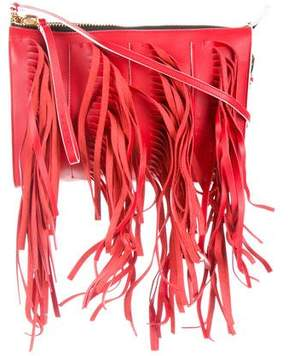 Marni Fringed Biker Bag