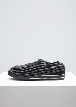 Comme des Garcons Black Painted Rubber Sneaker