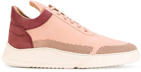 Filling Pieces colour contrast lace-up sneakers