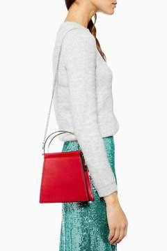 Topshop Lola Frame Mini Grab Bag